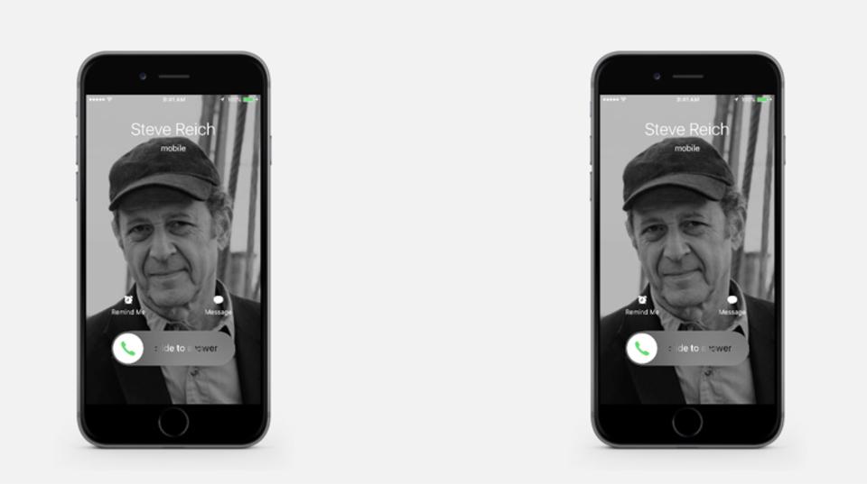 スティーブ・ライヒかと思ったらiPhoneの着信音だった