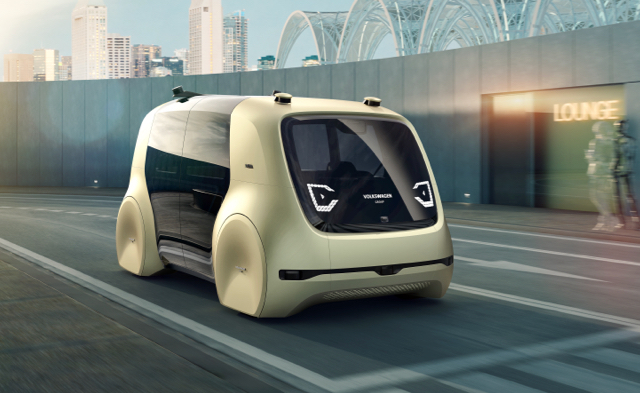 な、何かに似ている...!フォルクスワーゲンの自動運転コンセプトカーがムズムズする3
