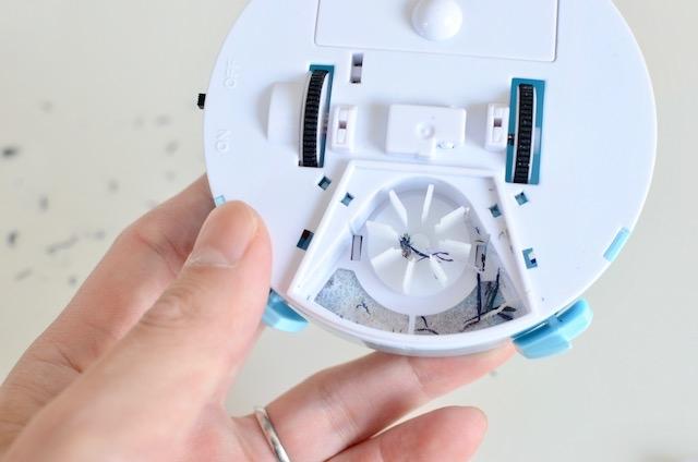 『ちゃお』付録ロボット掃除機レビュー:完璧なダウンサイジング! 実用とは違うステージに挑んでいる6
