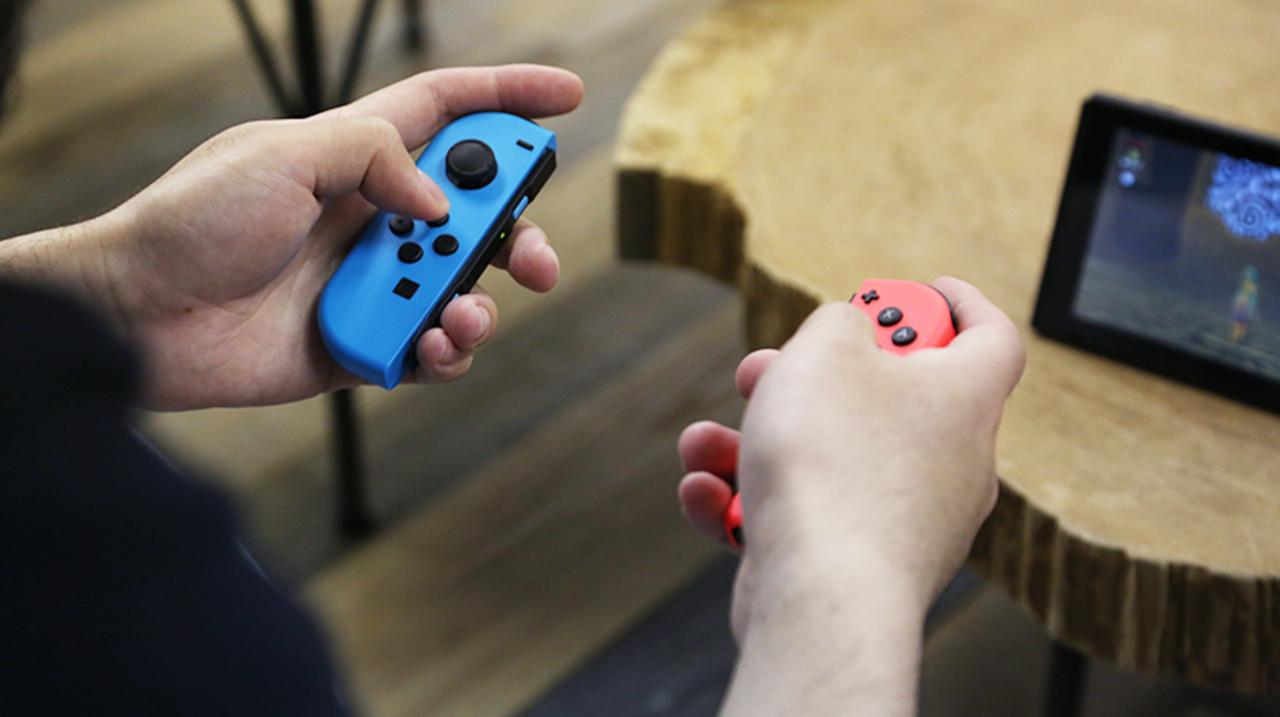 ゲームのコントローラーという「手錠」に、ニンテンドースイッチは自由をくれた