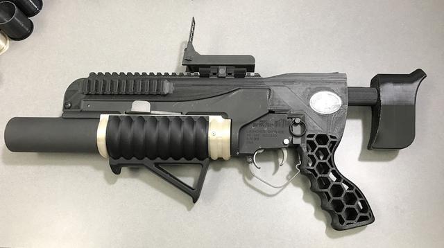 3Dプリンターでこんな武器まで。アメリカ陸軍が開発した3Dプリントグレネードランチャー