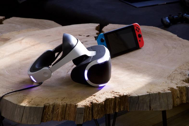 Nintendo Switch(ニンテンドースイッチ)とPlayStation VR(プレステVR・PS VR)2