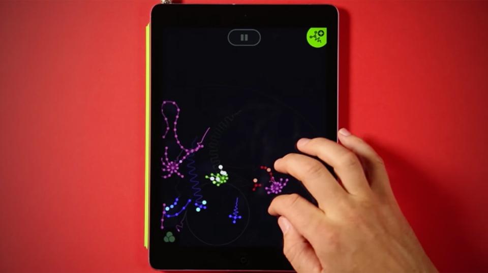 浮遊感たっぷりな触手系シーケンサーアプリ「Seaquence」