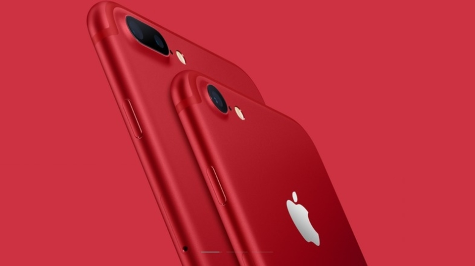 わお、ほんとに真っ赤っか! iPhone 7/7 Plusに新色登場