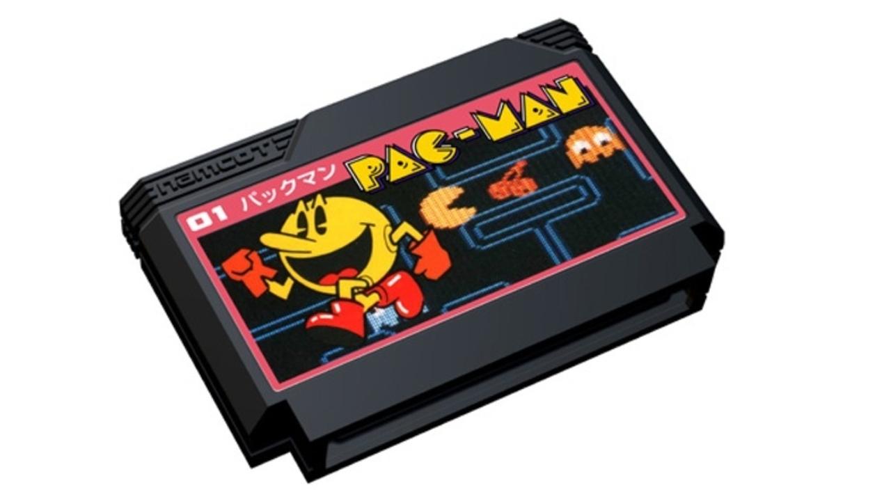 街行く人々が『パックマン』のファミカセを持ってる理由