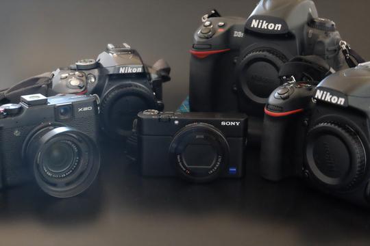 5台を使い分けるカメラのSwitch、機能とシーンでどう使う?