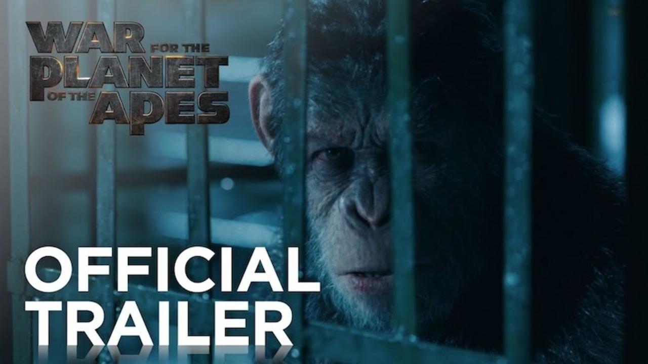 猿、団結、強い! 映画『猿の惑星:聖戦記(グレート・ウォー)』予告編