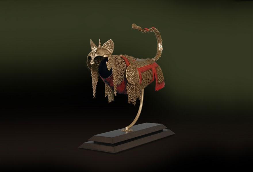 こ、これは、ニャんともかっこいい猫の鎧だニャ!2
