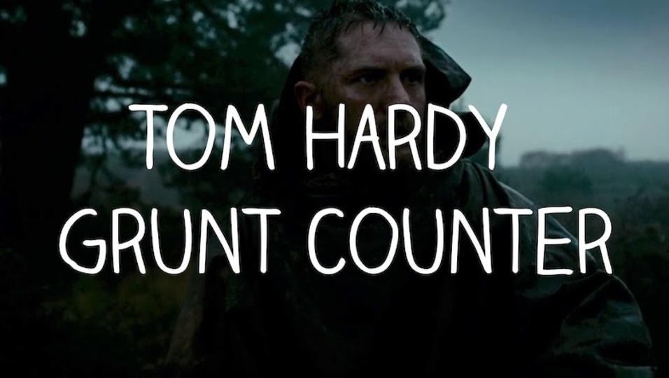 俳優トム・ハーディの素敵な唸り声集。言葉を発しなくてもトム・ハーは語れる