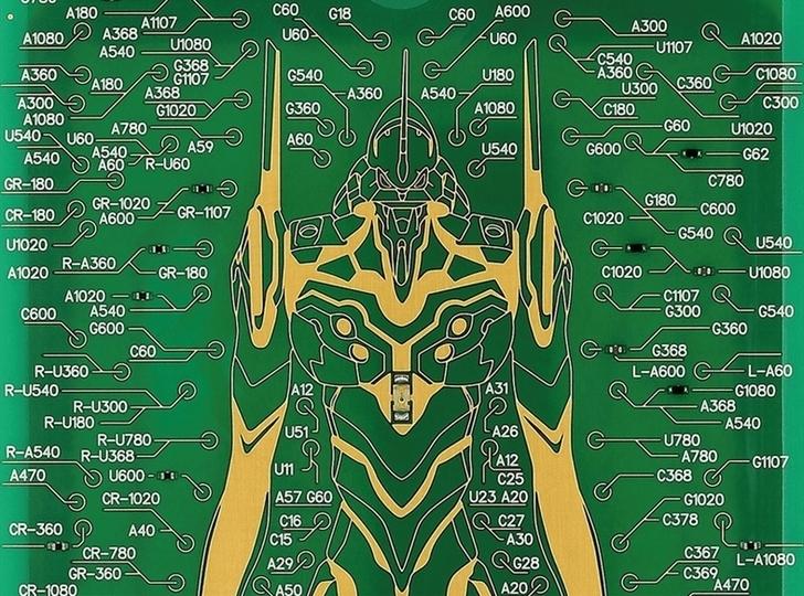 電車に乗れシンジ! 約10万ラインで描かれたエヴァンゲリオン初号機の「ICカードケース」