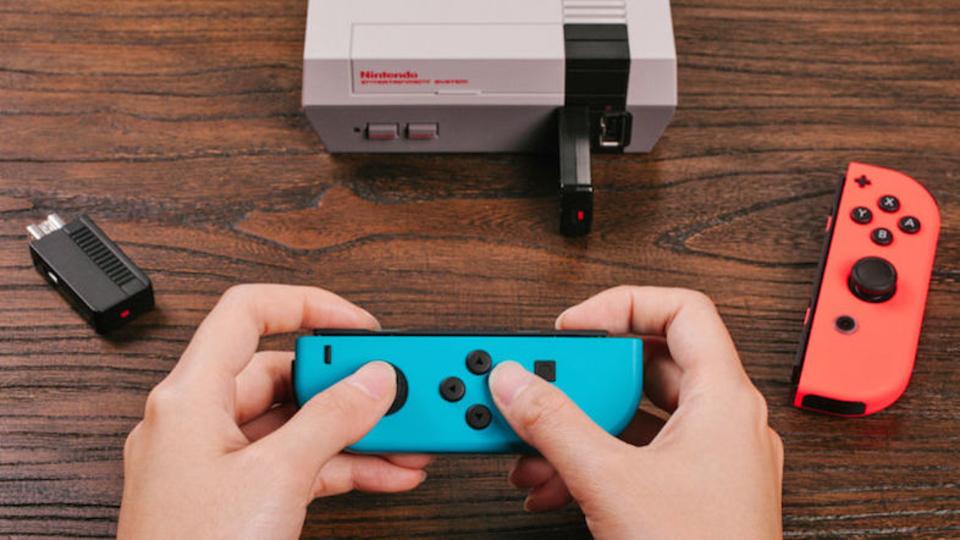 ニンテンドースイッチのジョイコンで「NES Classic Edition」をプレイ!