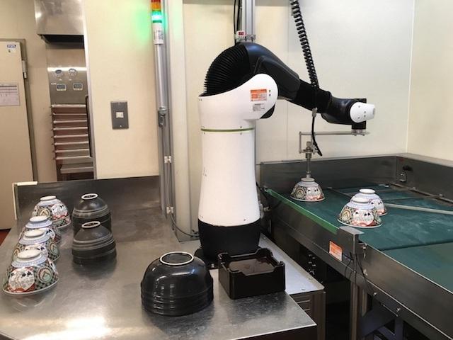 吉野家 ロボット CORO 3