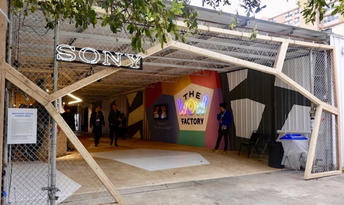 WOW!が飛び出すソニー遊びの工場「The WOW Factory」潜入レポート #SXSW