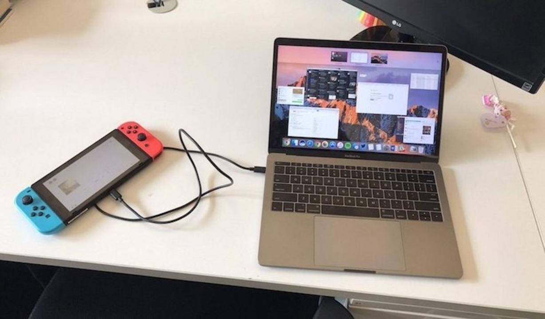 ニンテンドースイッチ、なんとMacBook Pro「へ」充電可能だった