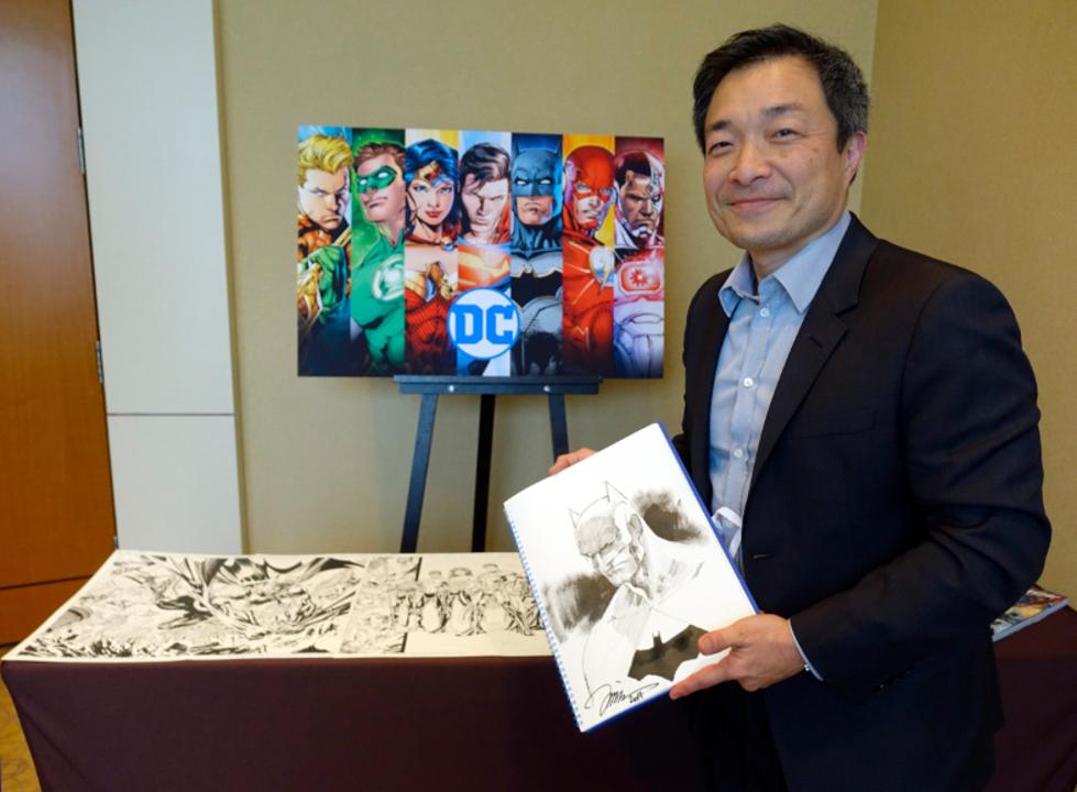 DCコミックスの生ける伝説! 世界最高のコミック・アーティストのジム・リーにインタビュー