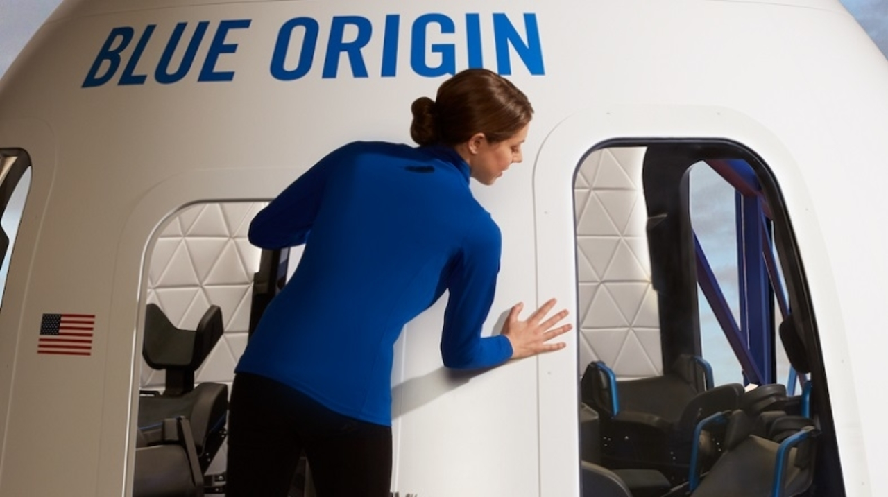 SpaceXよりカッコいい? Blue Originの宇宙船デザインが公開される