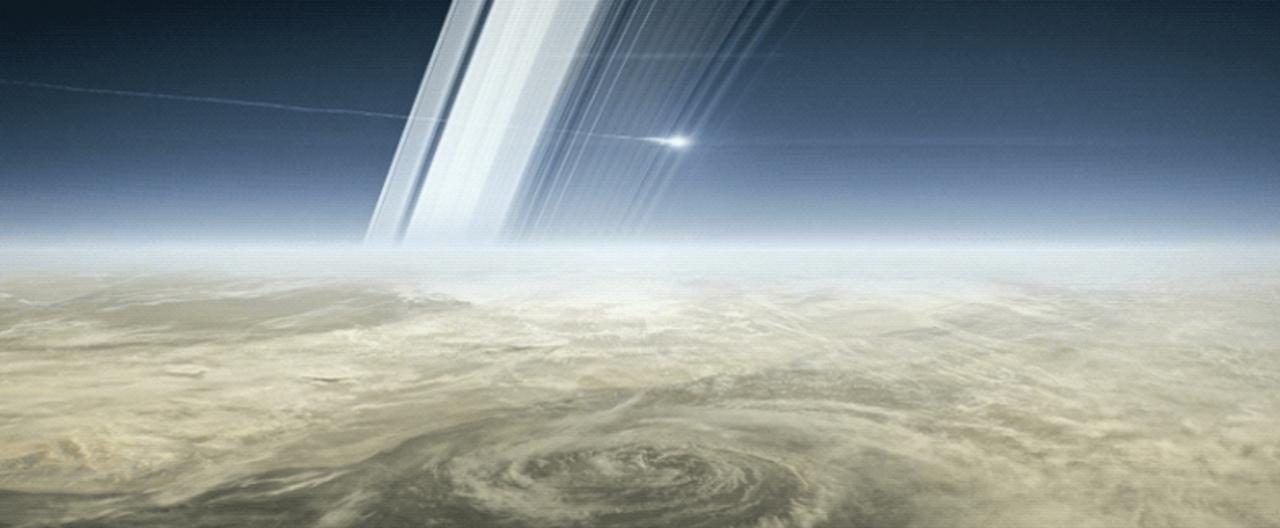 今年9月で任務終了。土星探査機カッシーニ、永眠の地はやっぱり土星