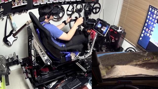運転も値段も実車並。約273万円かけて自作したVRレーシング用シミュレーター