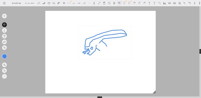 助けて!AutoDrawで宇宙人が描けない!6