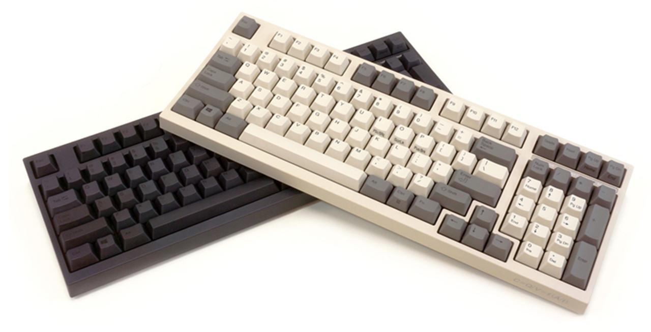 フルサイズなのに省スペースなPC用キーボード「FC980C」