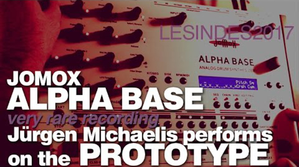 アナログドラム、FMシンセ、サンプラーを合体させたハイブリッドシンセ「Alpha Base」