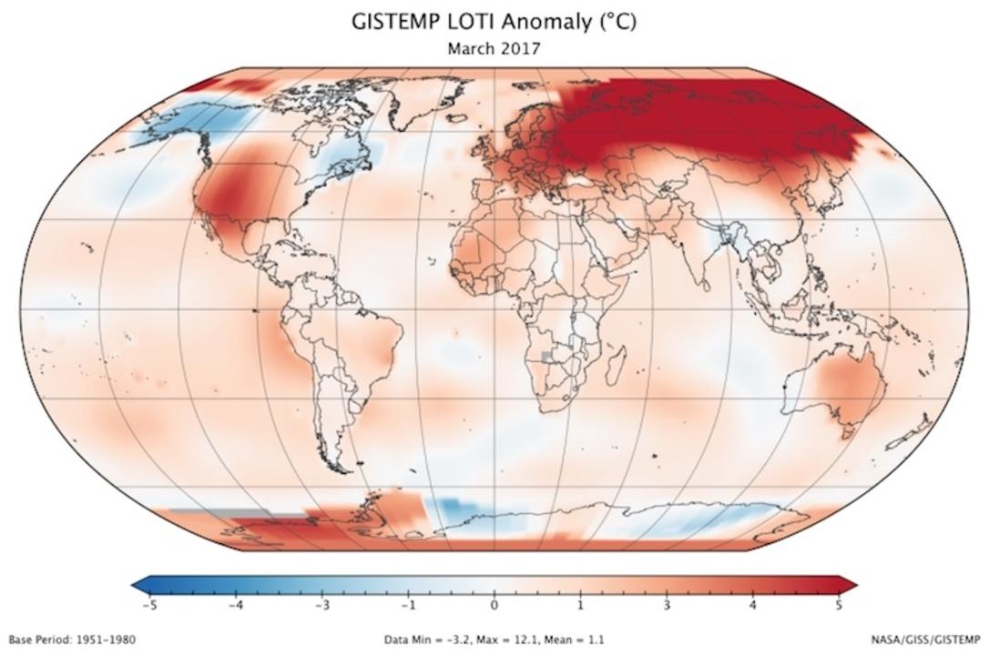 誰が何を言おうと地球温暖化は進んでいて、原因はやっぱり人間