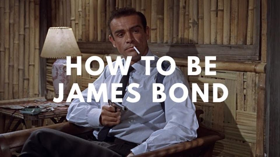 これであなたも立派なスパイ? ジェームズ・ボンドのなり方マニュアル