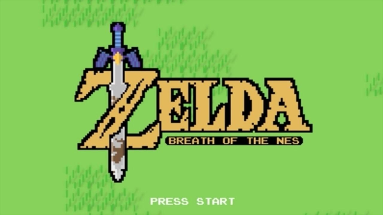 実際にプレイ可能なファミコン風『ゼルダの伝説 ブレス オブ ザ ワイルド』が登場