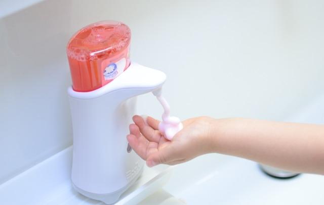 色が変わる魔法の泡で、子供も大人も手洗いが楽しくなっちゃうぜ3