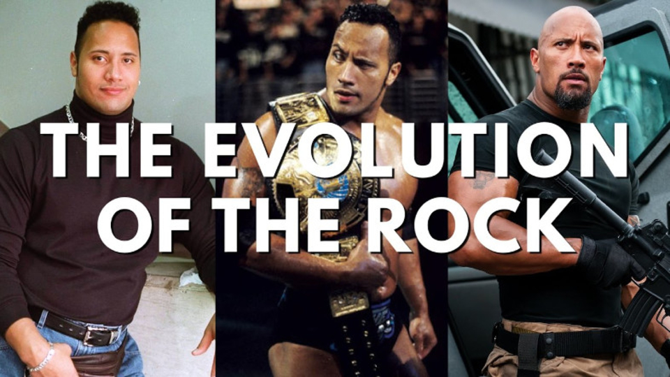 ロック様の歴史をとくと味わえ! ドウェイン・ジョンソンの進化の変遷