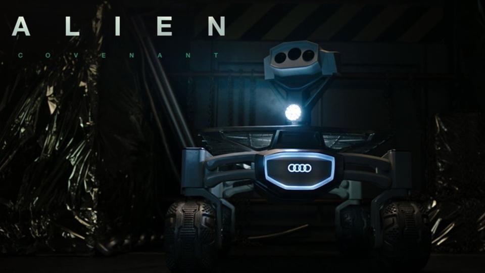映画『エイリアン:コヴェナント』とAudiの無人探査機がまさかのコラボ