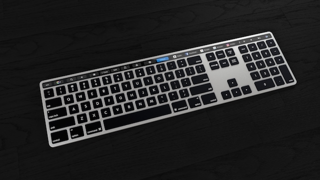 Touch Bar 外付けキーボード