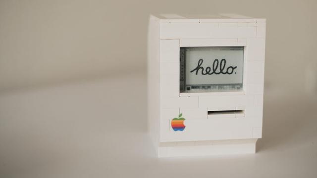レゴ×IoTで、部分的に動作する「Macintosh Classic」をつくろう