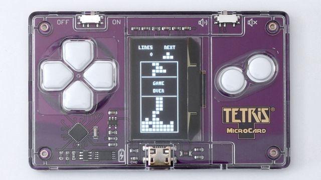 Tetris MicroCard 1