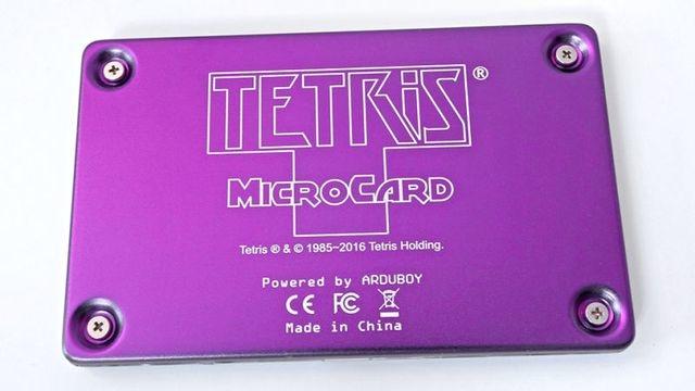Tetris MicroCard 5