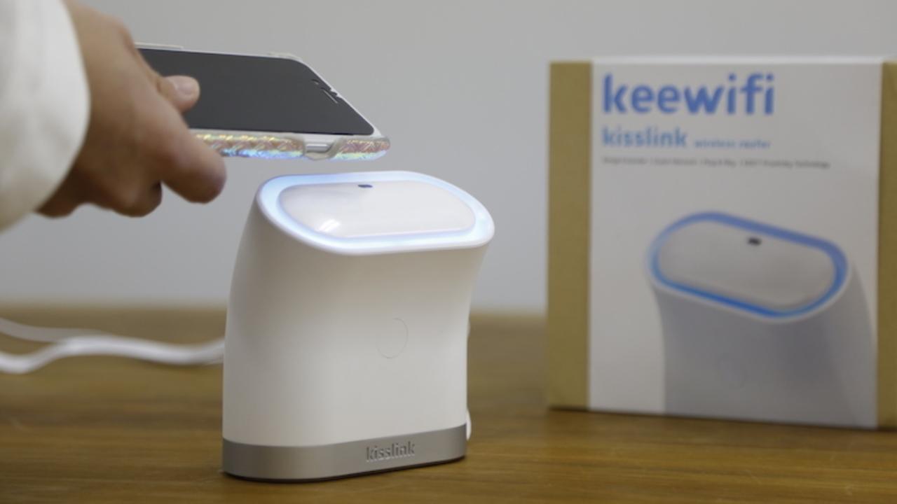 購入期限は残り1日。かざすだけでWi-Fi接続が可能なルーター「kisslink」は設定も簡単