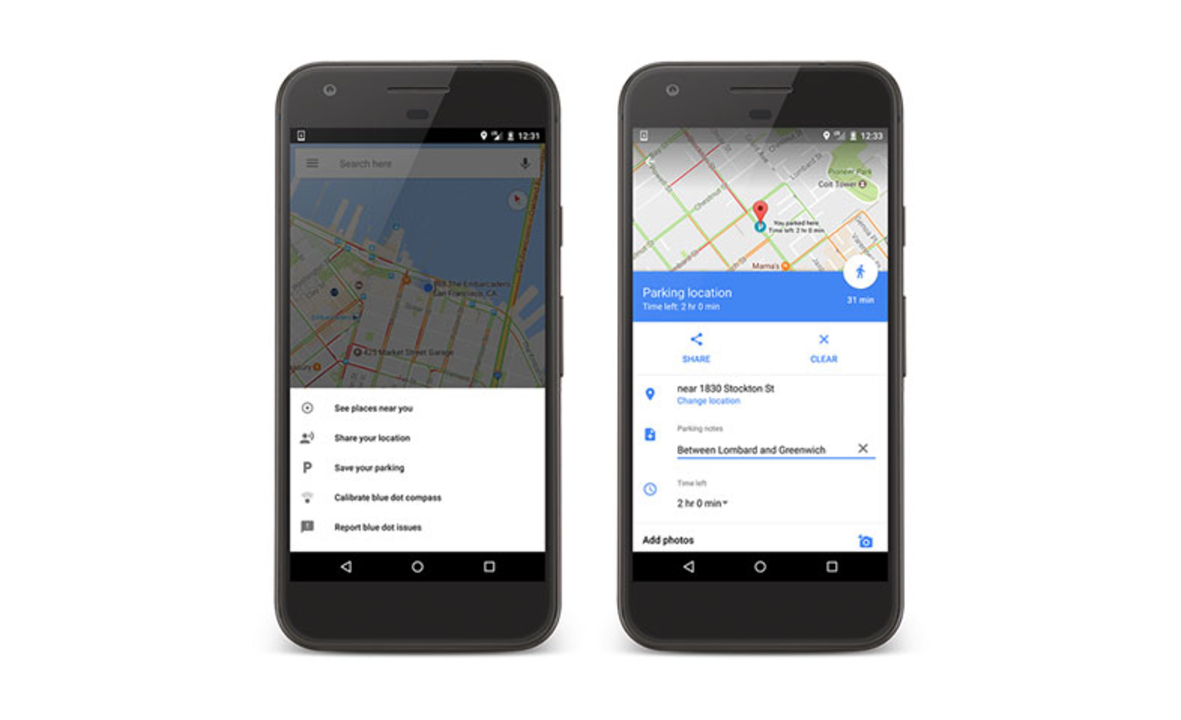 車をどこに停めたか、Google Mapが覚えてくれるようになります