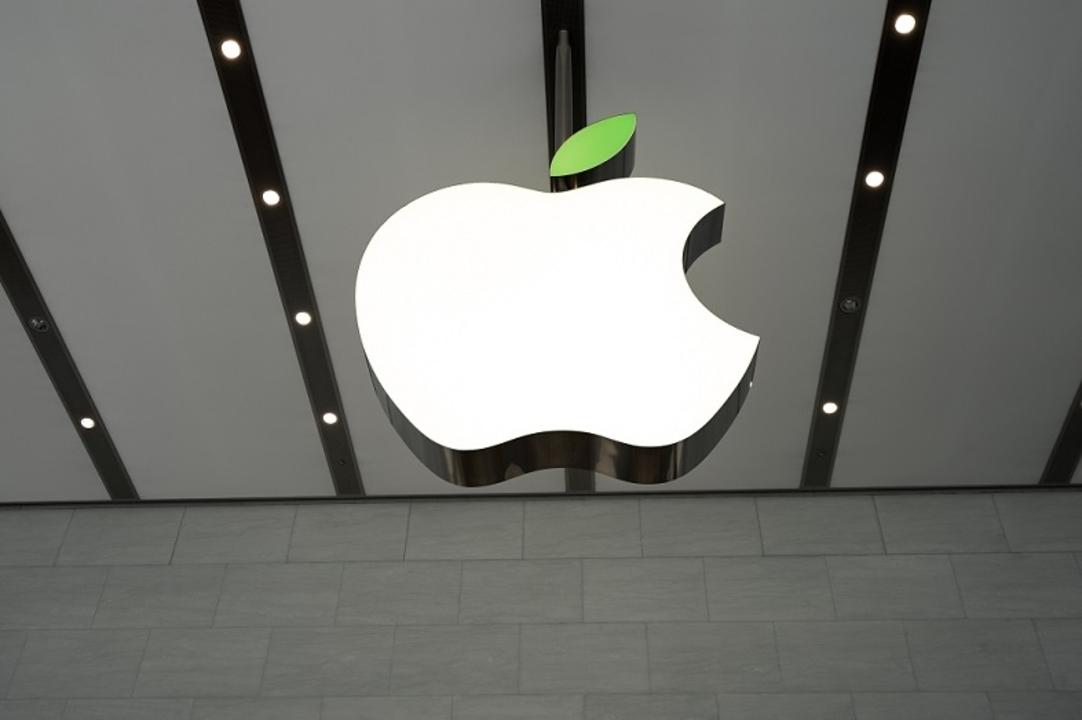 Appleの葉っぱが緑に!