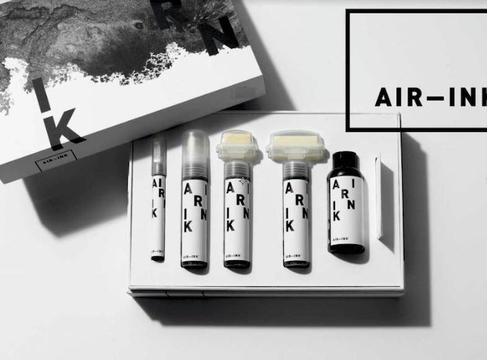 大気汚染からつくったインク「AIR-INK」