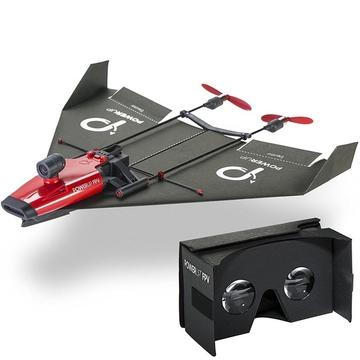 紙飛行機を折ったあの頃の夢「これに乗って自由に空を飛び回りたい」が現実に!? アタマを振って右に左に旋回する紙飛行機ドローン