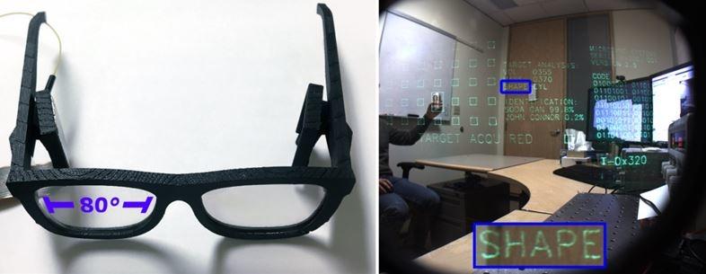 高コントラスト、高解像度ホログラムで乱視も矯正するARメガネ5
