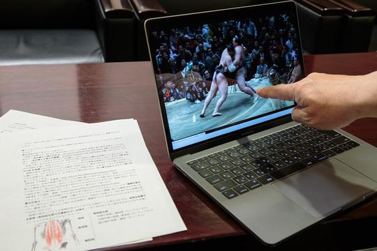 運動を科学する「スポーツバイオメカニクス」で横綱・稀勢の里の強さを分析