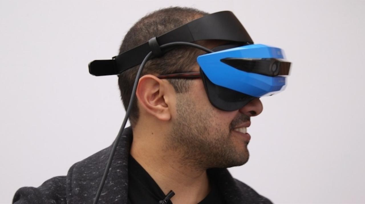 HoloLensの次のMRはこれ。Acer×Microsoftの「MRも対応するVRゴーグル」とは?