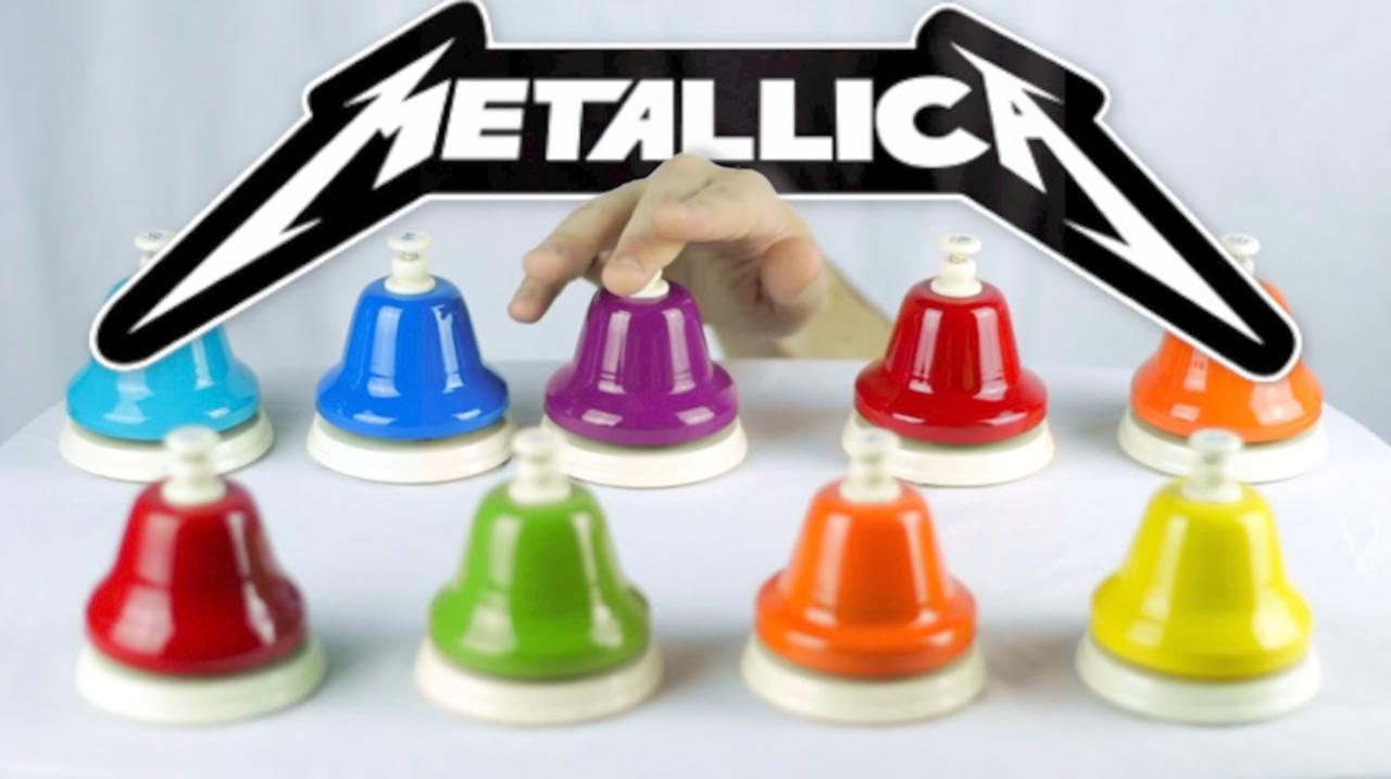 メタリカの『For Whom The Bell Tolls』を曲名通りベルの数々で演奏