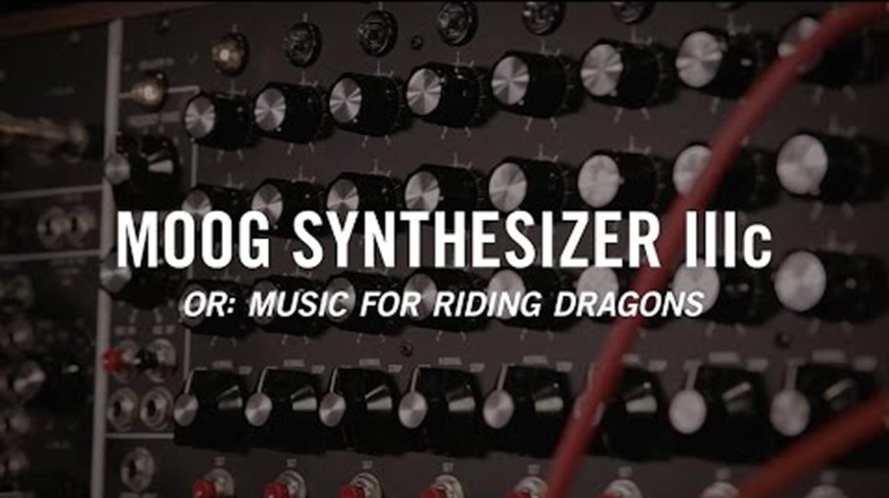 タンスの愛称で知られる「Moog Synthesizer IIIc」が限定再生産決定