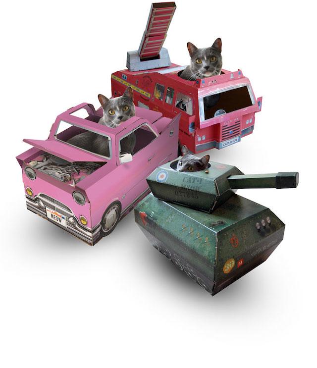 3 ネコDJ、ネコ消防士、ネコ兵士、ネコ愛が生む人間のクリエイティブ