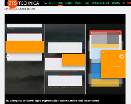 脱LinuxのGoogle新OS「Fuchsia」UIが初公開。4画面分割も余裕です