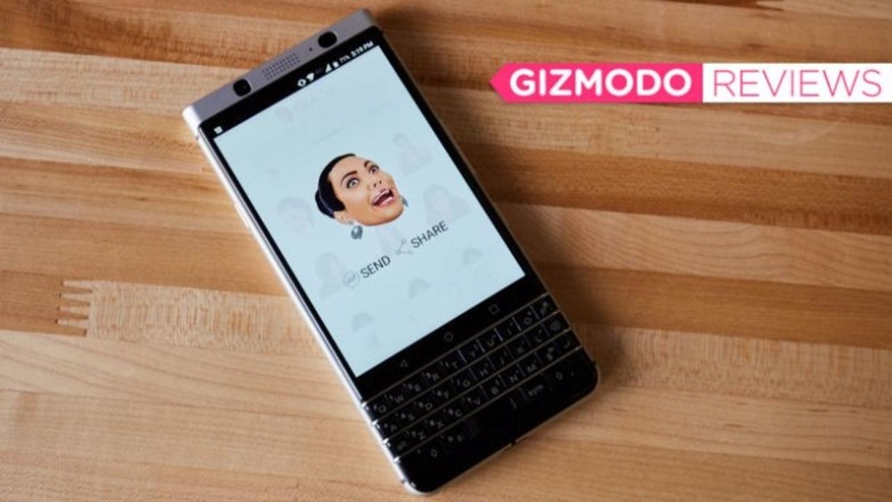 意外なる名機か…BlackBerry KEYoneを使ってみて感動!
