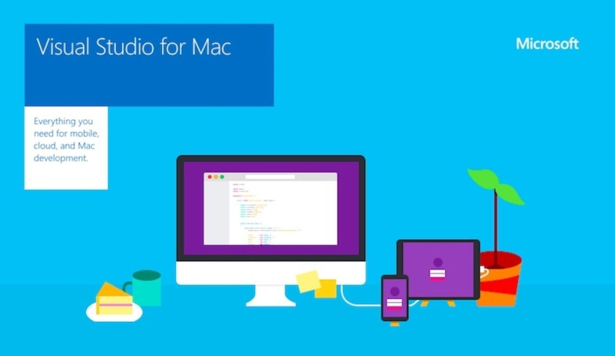 Microsoft「Visual Studio for Mac」をとうとう正式リリース!