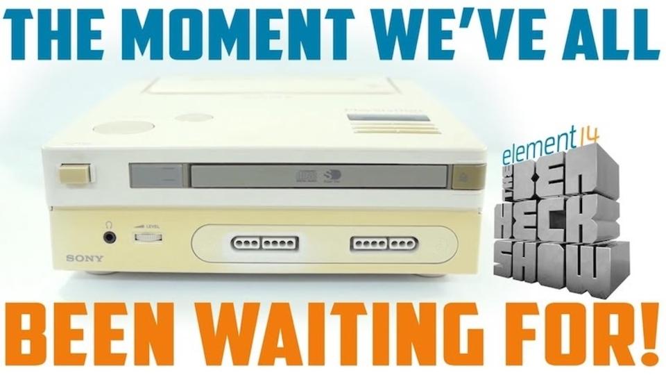 幻のソニー×任天堂ゲーム機「PlayStation」 今回はゲームの起動に成功!